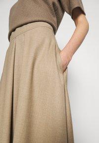 WEEKEND MaxMara - CABLO - A-line skirt - camel - 3