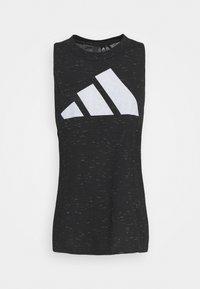 adidas Performance - WIN TANK - Top - black melange - 4