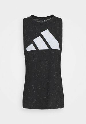 TANK - Top - black melange