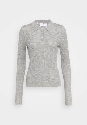 SLFCOSTA - Pullover - light grey melange