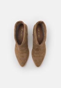 L37 - DANCING IN THE MOONLIGHT - Cowboy/biker ankle boot - brown - 5