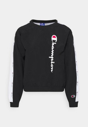 CREWNECK ROCHESTER - Long sleeved top - black