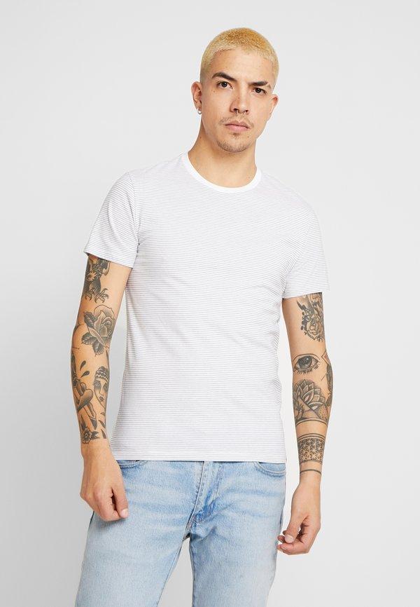 Levi's® CREWNECK 2 PACK - T-shirt z nadrukiem - olive/white/dress blues/oliwkowy Odzież Męska PYEQ