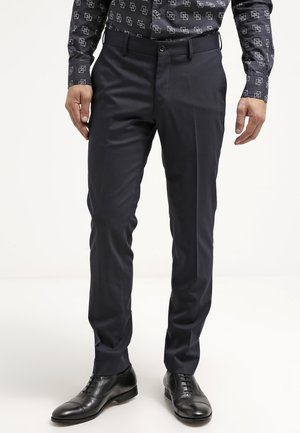HERRIS - Suit trousers - dark blue