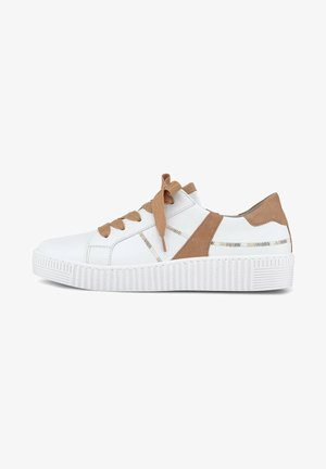 Sneakers laag - weiss/caramel(ice)