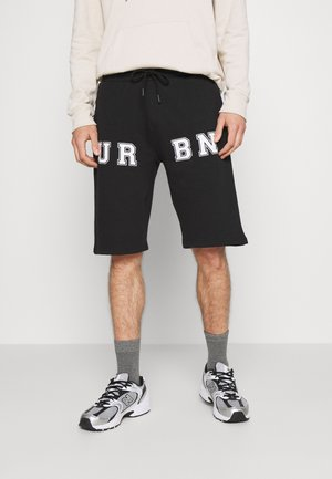 PRINT UNISEX - Shorts - black