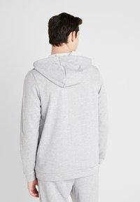 Nike Performance - DRY HOODIE  - Zip-up hoodie - dark grey heather/black - 2