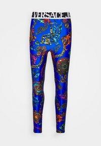 PANTS - Leggings - Trousers - blue/multi