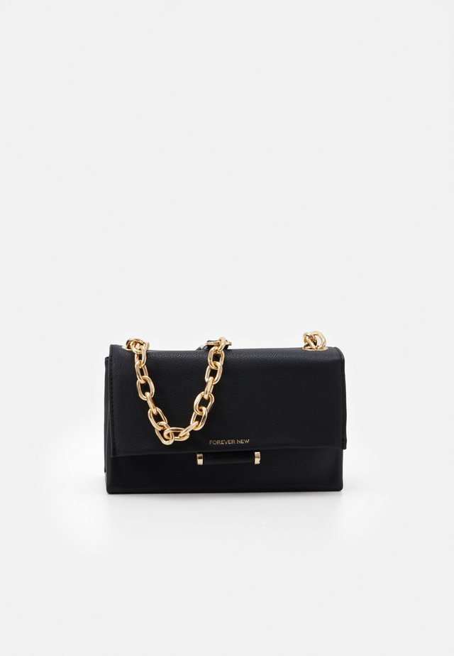DELTA MINI CROSSBODY - Schoudertas - black