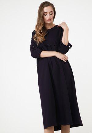 SELINA - Day dress - pflaume