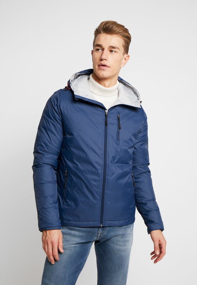 RIPSTOP HOODED JACKET - Summer jacket - cadet navy