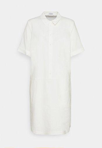 DRESS - Abito a camicia - wool white