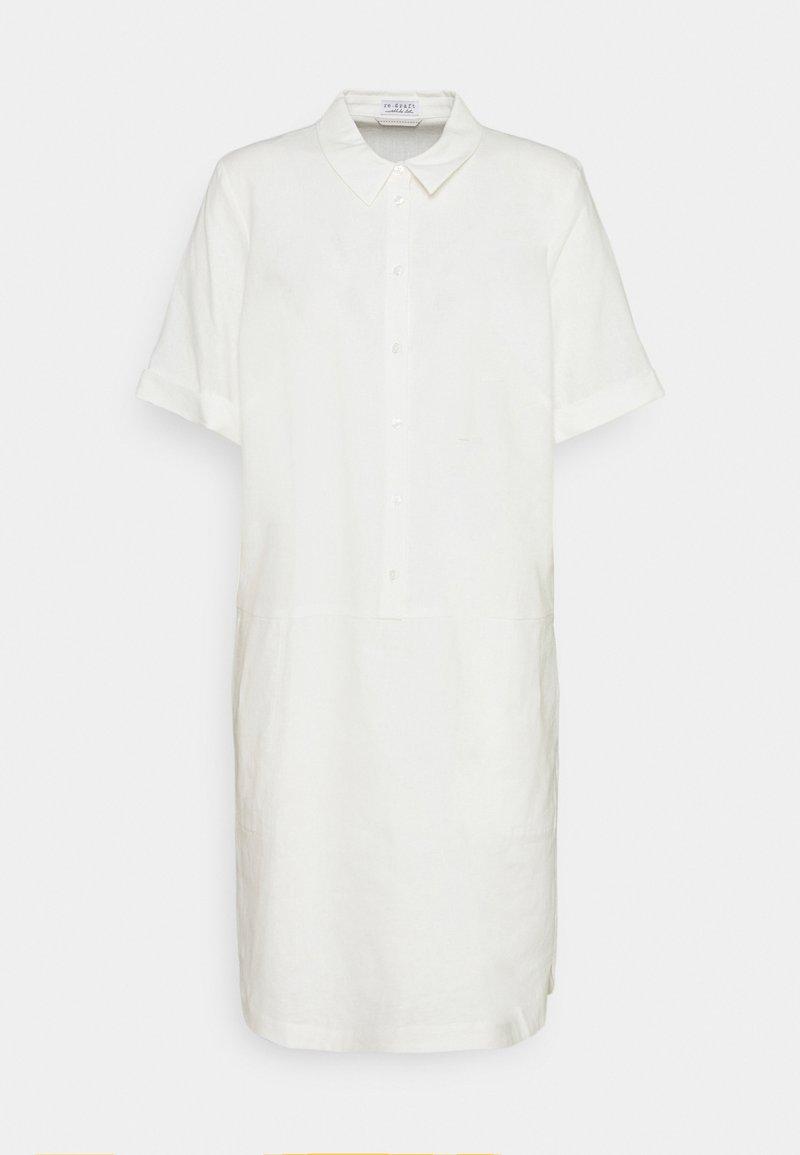 Re.draft - DRESS - Sukienka koszulowa - wool white