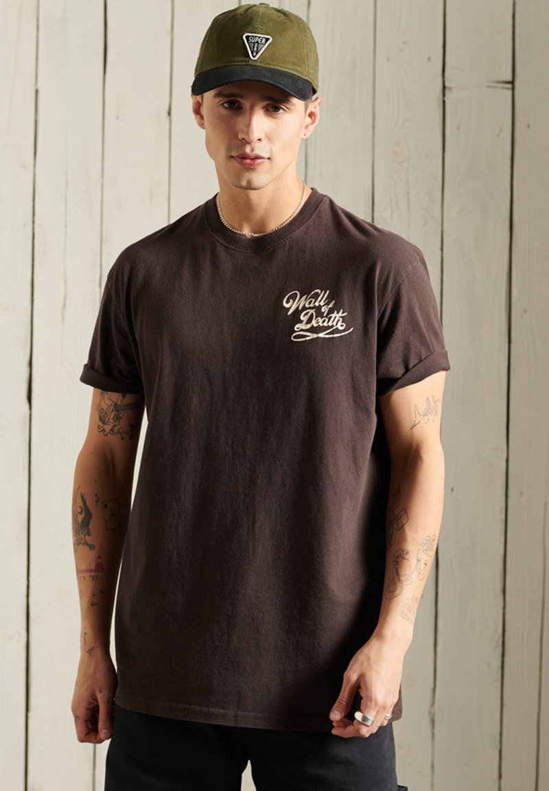 Men BOHO BOX FIT GRAPHIC - Print T-shirt