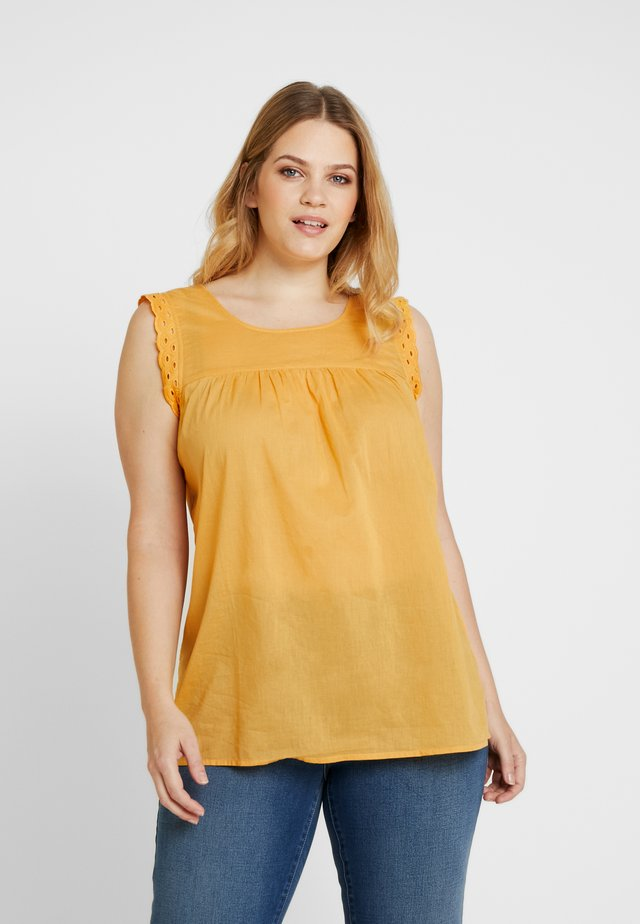 YSIERRA BLOUSE - Bluser - gold