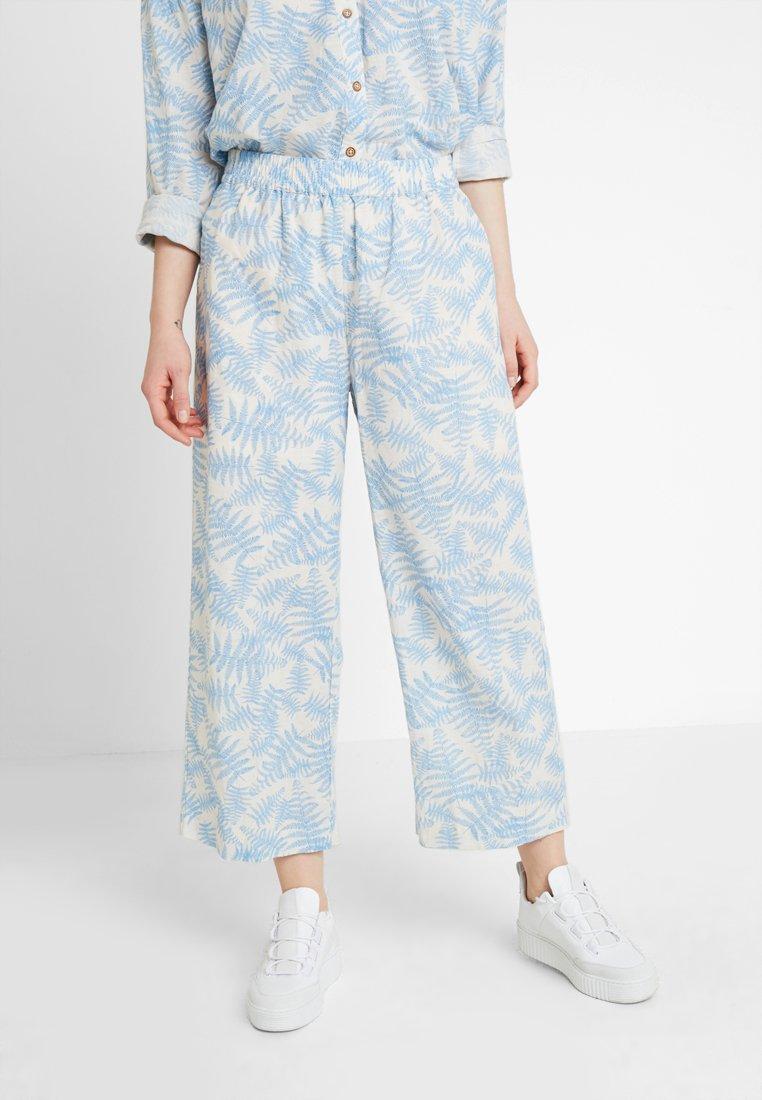 Moss Copenhagen - GRO CULOTTE - Trousers - blue