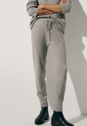 100 % KASCHMIR  - Tracksuit bottoms - grey