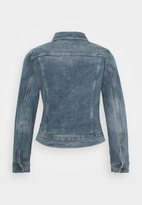 G-Star - 3301 SLIM - Giacca di jeans - sun faded stone - 6