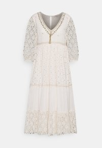 Derhy - RETRO DRESS - Vapaa-ajan mekko - off white - 0