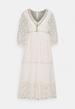 RETRO DRESS - Sukienka letnia - off white