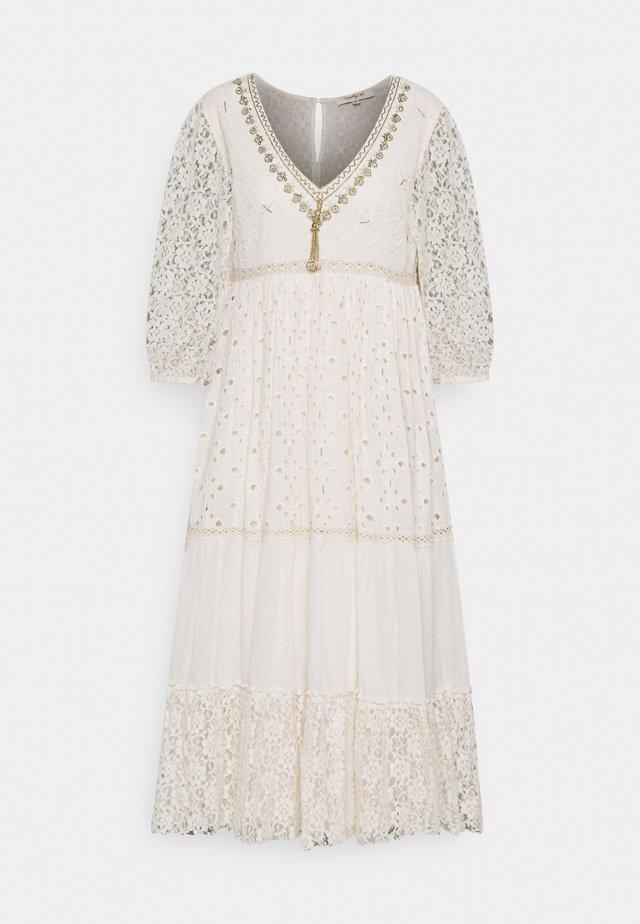 RETRO DRESS - Vestito estivo - off white