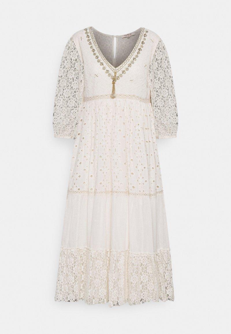 Derhy - RETRO DRESS - Vapaa-ajan mekko - off white