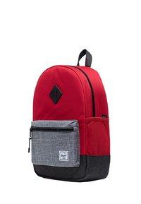 Herschel - School bag - red/raven crosshatch/black crosshatch - 2