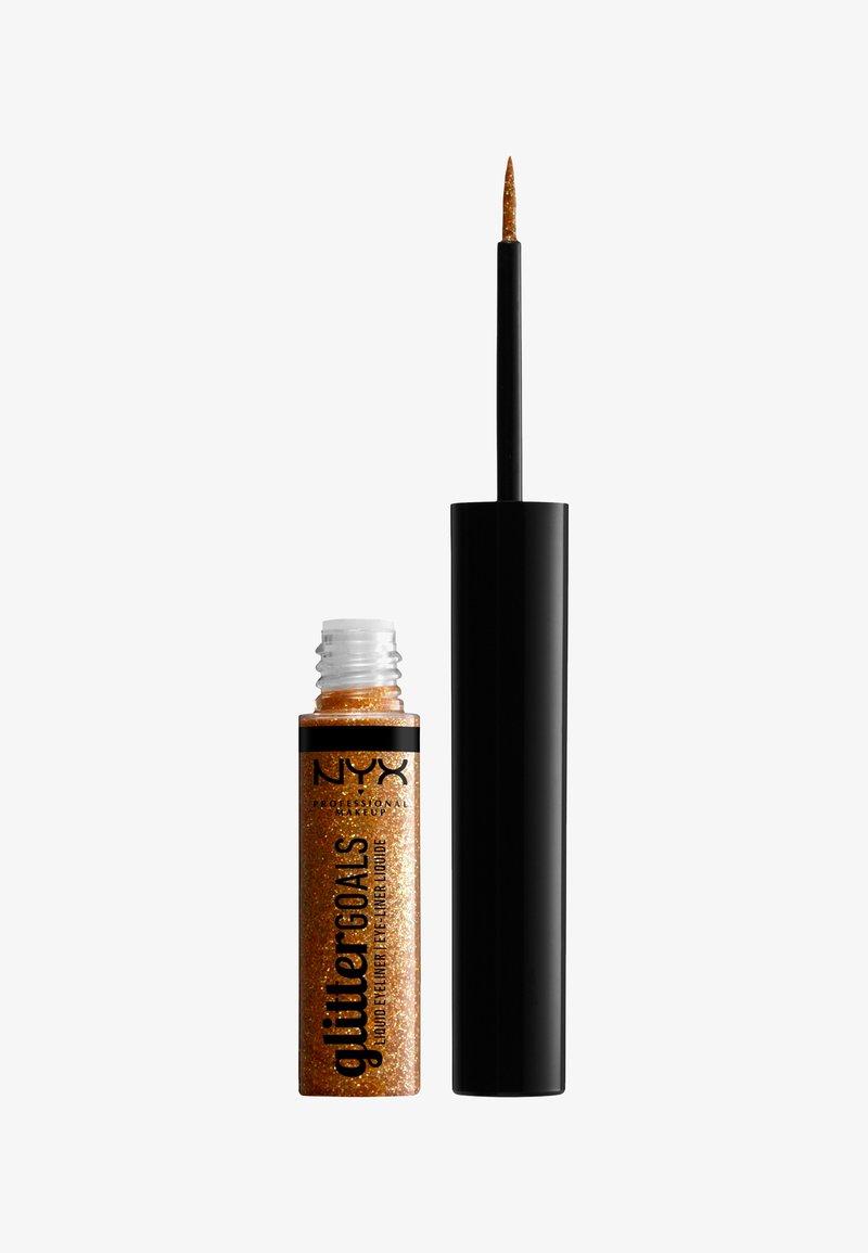 Nyx Professional Makeup - GLITTER GOALS LIQUID EYELINER - Eyeliner - 05 chamomile