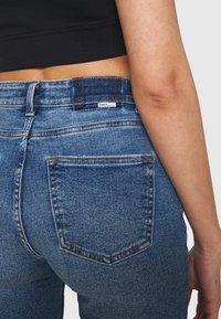 ONLY - ONLERICA LIFE - Denim shorts - dark blue denim - 4