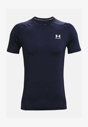 ARMOUR FITTED - T-shirt print - midnight navy