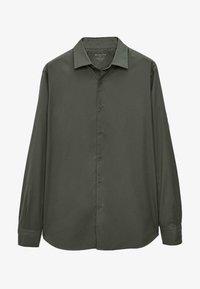 Massimo Dutti - SLIM FIT - Shirt - green - 3