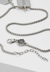 Diesel - DOUBLE DOGTAGS - Necklace - silver-coloured - 2