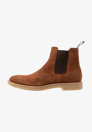 GALVESTONE - Bottines - cognac