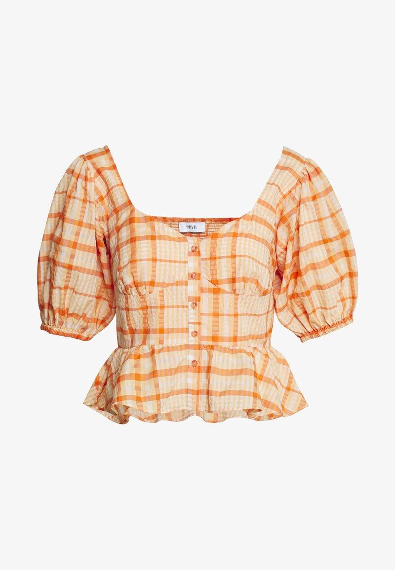 Envii - ENBLUME - Bluzka - orange