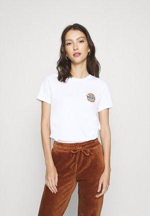 LEFT CHEST - T-shirt print - white