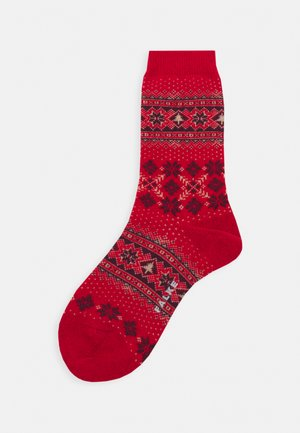 WINTER HOLIDAY   - Socks - red