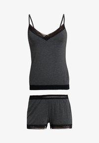 Anna Field - SET - Pyjamas - grey marl - 4