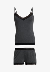 Anna Field - SET - Pyjamaser - grey marl - 4