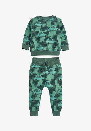 CAMO CAR - Sweatshirt - green