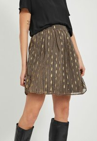 Vila - A-line skirt - black - 3