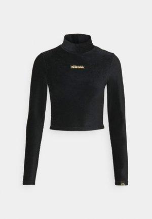 HOLLIE - Long sleeved top - black
