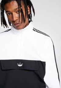 adidas Originals - OUTLINE ZIP - Windbreaker - black/white - 5