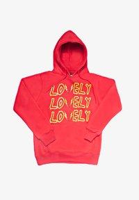 SEXFORSAINTS - LOVELY/LONELY - Hoodie - metallic red - 5