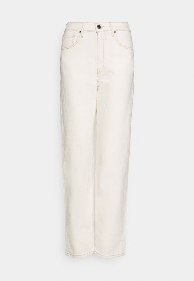 THE COLUMN - Jeans a sigaretta - off-white