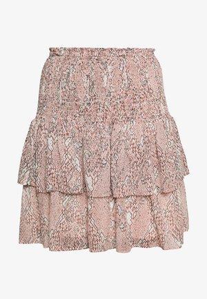 CRAYON SKIRT - Áčková sukně - eggnog