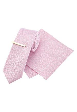 SET - Pocket square - pink