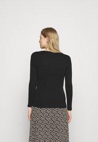 Marks & Spencer London - REGULAR CREW - Long sleeved top - black - 2