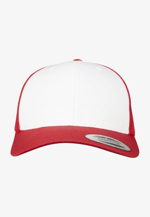 RETRO TRUCKER - Cap - red/white