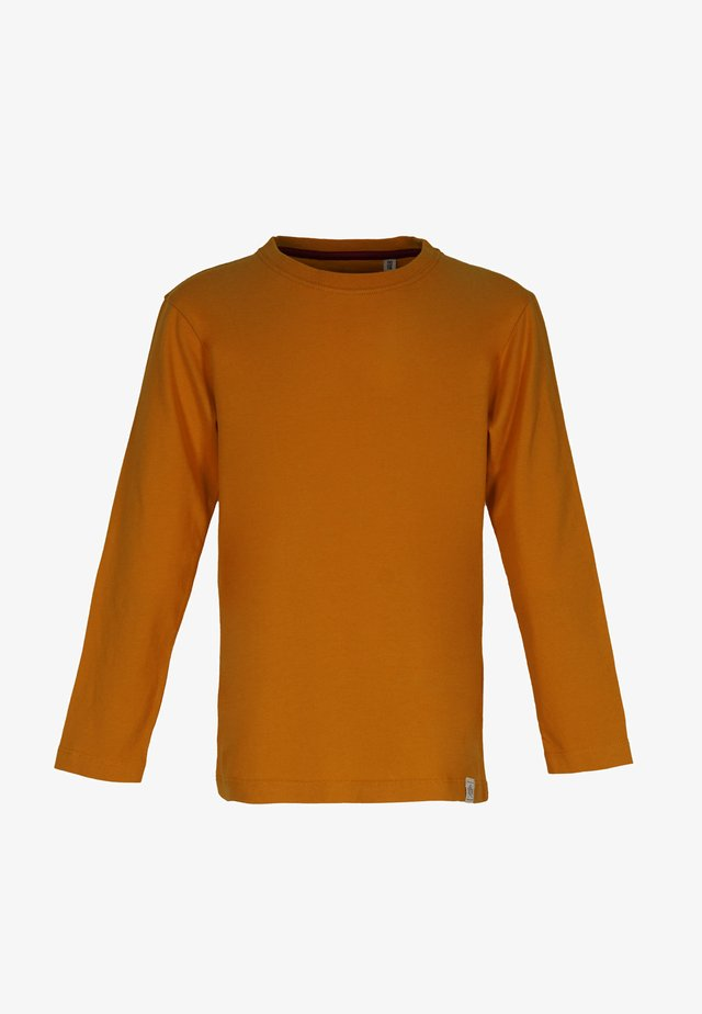 Long sleeved top - rust