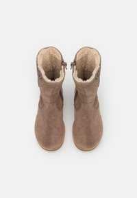 Friboo - LEATHER - Boots - taupe - 3